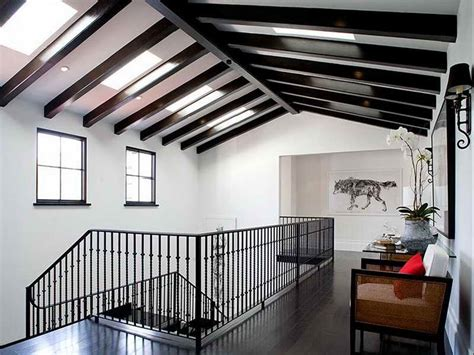 exposed ceiling beams ideas modern spanish exposed beam ceiling ideas for