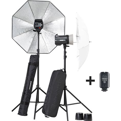 Elinchrom D Lite Rx 4 Price In India by Elinchrom Brx 250 250 Umbrella To Go Kit El20748 2 B H Photo