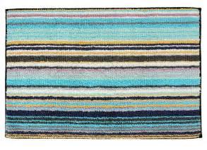 blue striped bath mat missoni home jazel 170 turquoise blue striped bath rug