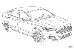 2015 Ford Fusion Coloring Page Free Printable Coloring Pages Ford Coloring Pages
