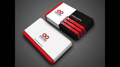Business Cards In Photoshop