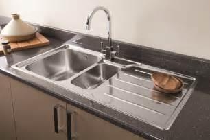Steel Sink In Kitchen Stainless Steel Kitchen Sink 11891