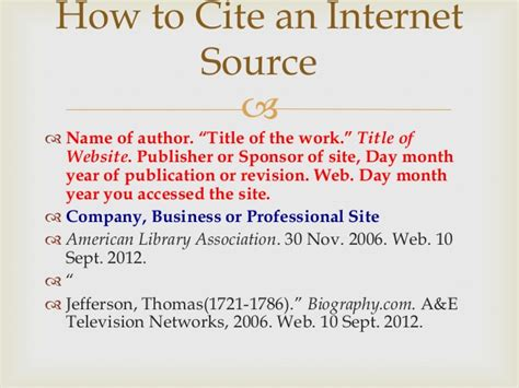 how to cite a website in a research paper how to cite sources in a research paper mla