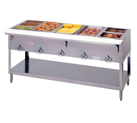 Steam Table Make Commercial Steam Tables Energy Efficient Back Burner