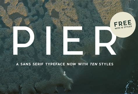 pier sans befonts download free fonts - Pier Sans Font Free Download