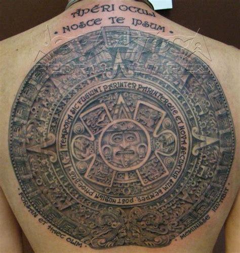 Calendario Azteca Tatuaje Calendario Azteca By Pedro Alvarez