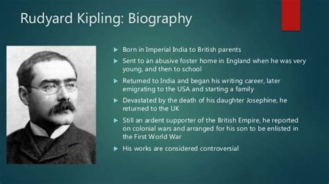 biography rudyard kipling rudyard kipling and roald dahl