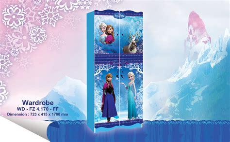 Ranjang Frozen jual wardrobe lemari pakaian anak karakter frozen wd fz 4170 ff harga murah kota tangerang oleh