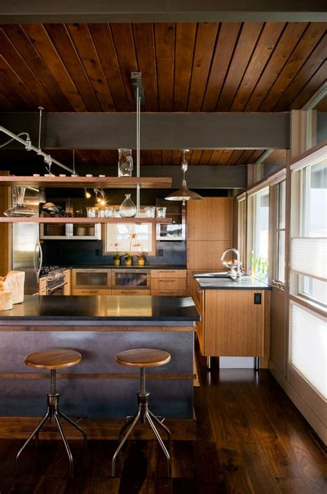 mixing mid century modern and rustic a mid century home renovation full of idiosyncrasies