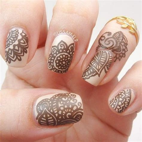 nail art tutorial in hindi 25 best ideas about henna nail art on pinterest henna