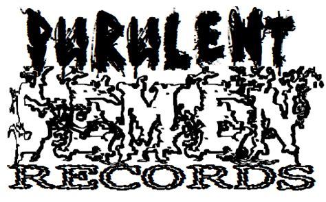Records P R Ruido Noise Purulent Records R I P