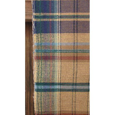 blue plaid upholstery fabric vintage mid century brown blue plaid upholstery fabric 2