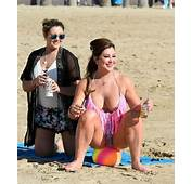 Lisa Appleton Is Back On The Beach With Everything Show
