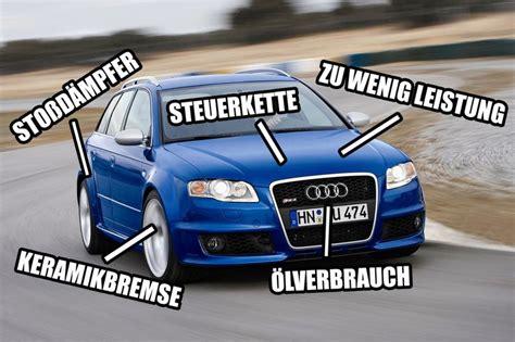 Audi Rs4 Kaufberatung by Gebrauchte Supertest Helden Schwachstellen Audi Rs 4 B7