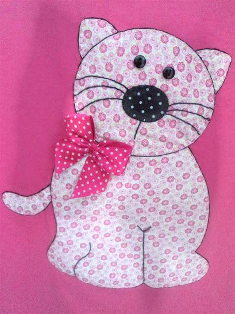 patchwork infantil camiseta infantil gatinha patchwork pano de prato