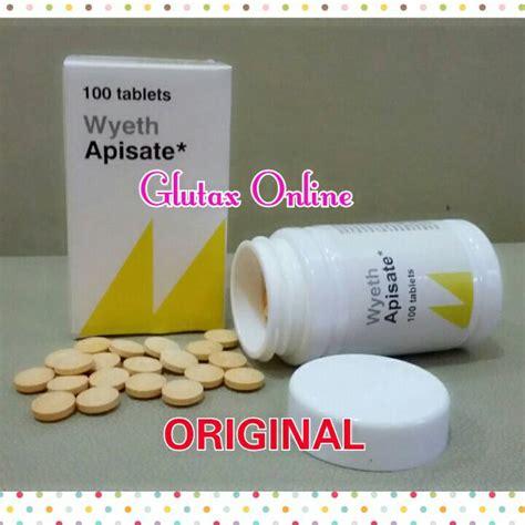 Glutax Tablet jual apisate wyeth tablet pelangsing glutax