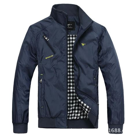 fall mens fashion comfortable korean style jacket collar
