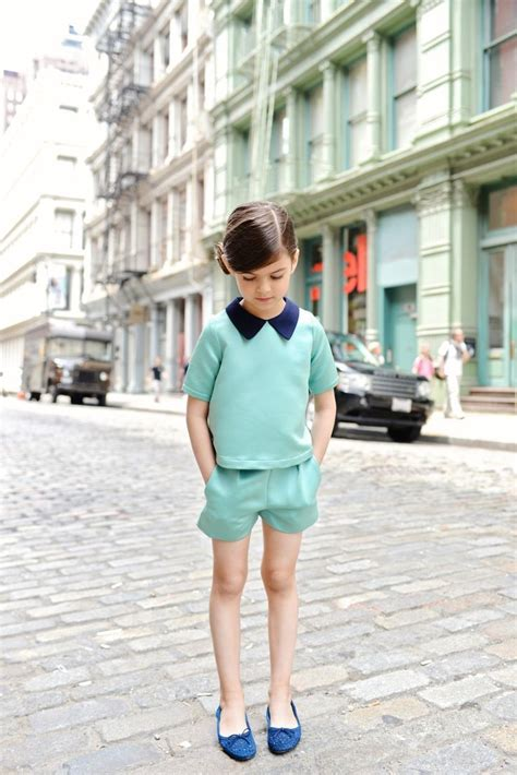St Kid Line Navy mint with a hint of navy photography designer fashion style