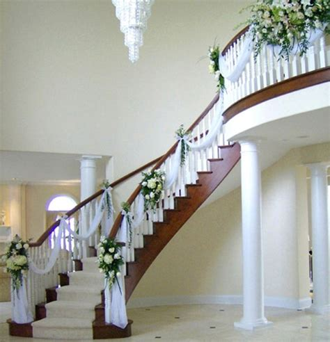 images  wedding staircases decor  pinterest
