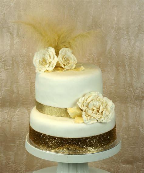 Two Tiers Gold Lace Theme Cake Platter gold 2 tier ibiza wedding cake ibiza cakes