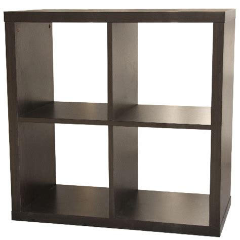 cube bookshelves 4 cube bookcase rona