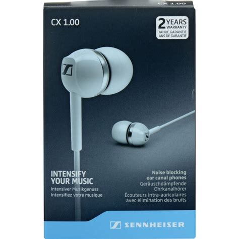 Earphone Sennheiser Cx 500 Putih 1 jual earphone sennheiser cx 1 00