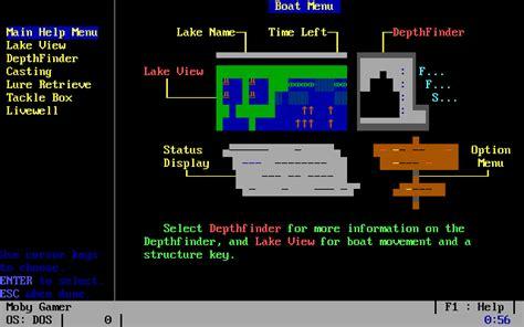 dating sim dos games freshwater fishing simulator screenshots for dos mobygames
