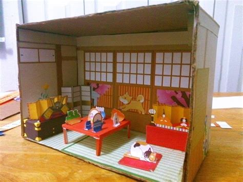 house diorama japanese paper house diorama 183 a dolls house 183 decorating