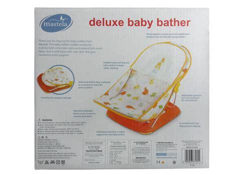 mastela deluxe baby bather