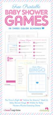 Free printable baby shower games perfect for every free printable