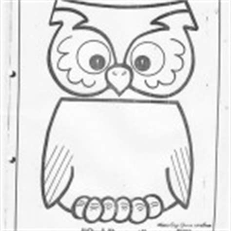 paper bag owl pattern paper bag crafts with pattern for kids crafts and