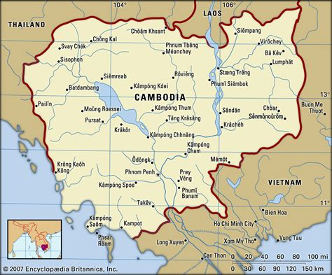 100 map of cambodia political map of asia with