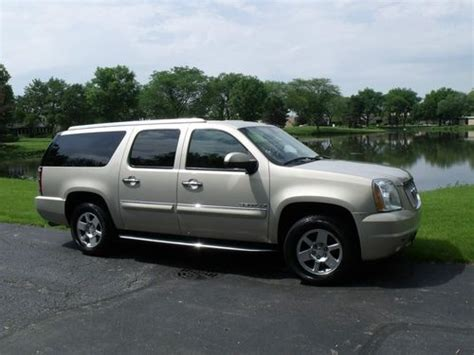 how petrol cars work 2007 gmc yukon xl 2500 free book repair manuals purchase used 2007 gmc yukon xl 1500 denali sport utility 4 door 6 2l in willowbrook illinois