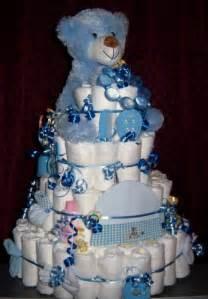 baby shower 4 tier bear diaper cake 150 brand diapers bonus ebay