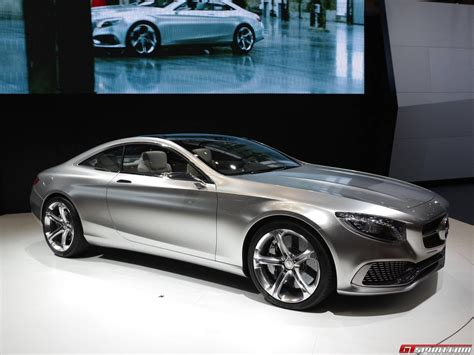 Mercedes S Class Coupe Tokyo 2013 Mercedes S Class Coupe Concept Gtspirit