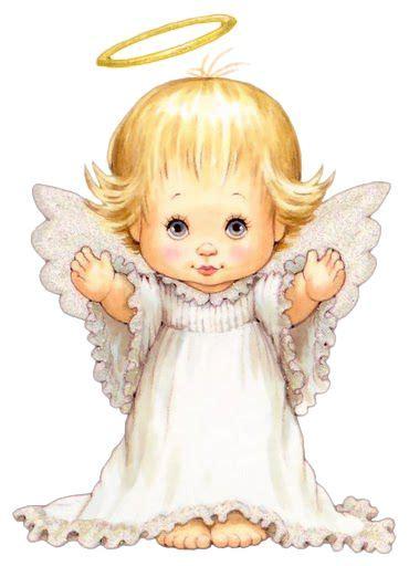 dibujos de angelitos de navidad