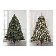fragrant christmas tree 9 pre lit forever fragrant 174 scented garland 8490844 hsn