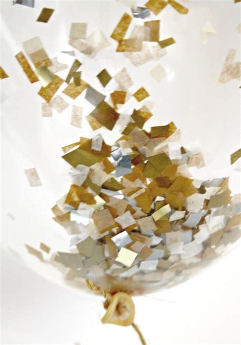 white silver gold decor gold silver white and chagne confetti balloon