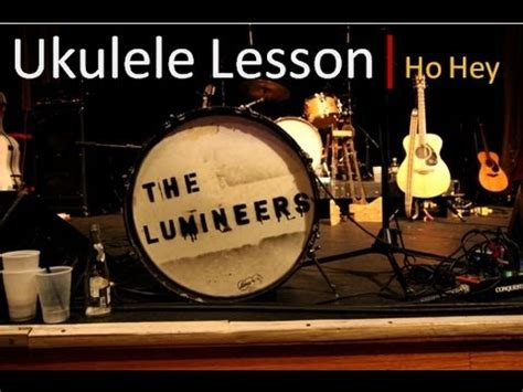 Tutorial Ukulele Ho Hey | the lumineers ho hey how to play on ukulele easy