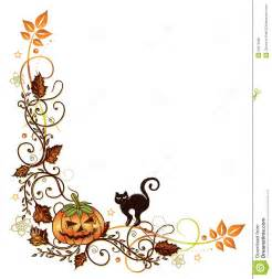 halloween corner border clipart clipartsgram com