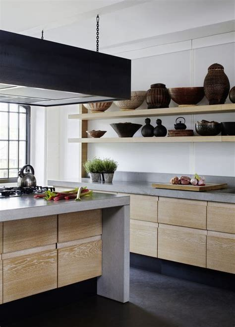 Concrete And Wood Kitchen by The 25 Best Concrete Kitchen Ideas On