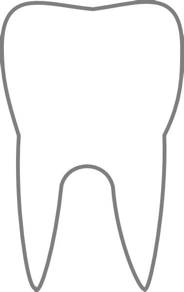 Transparent Tooth Clip Art at Clker.com - vector clip art