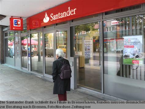 Santander Bank Zeigt Bremerhaven Den R 252 Cken
