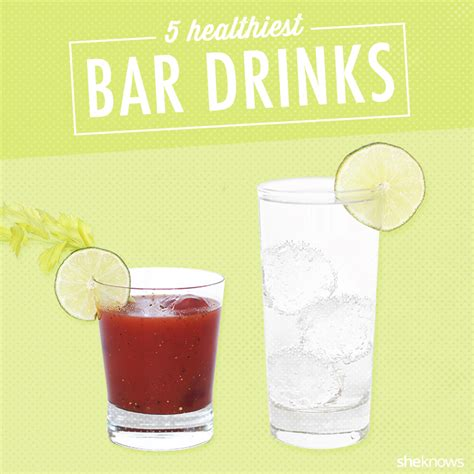 the 5 healthiest alcoholic beverages ranked