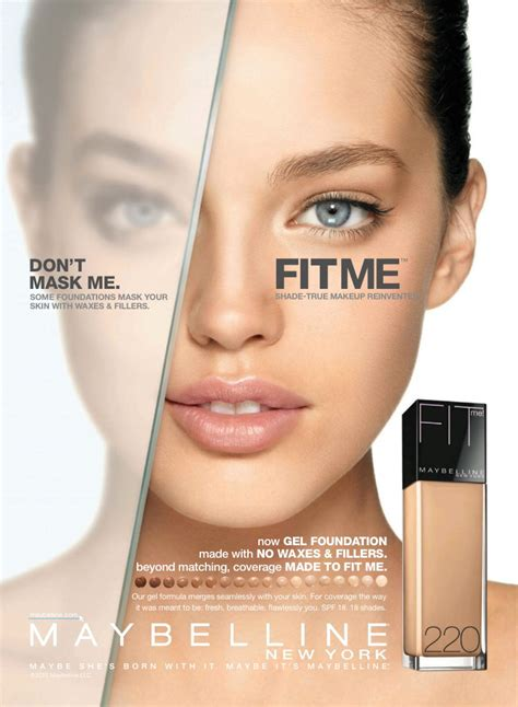 Makeup Ads Maybelline Cosmetic Advertising Cosmetic Skincare
