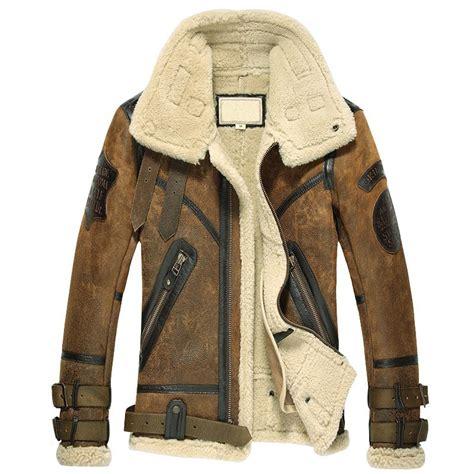jacket design maker online designer sheepskin shearling jacket for men cw877168