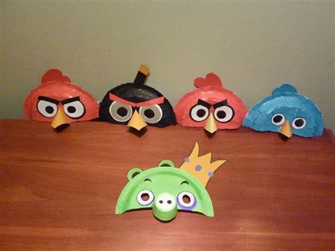 Angry Bird Paper Plate Craft - 1000 images about paper plate masks on