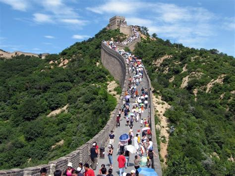 great wall badaling section badaling great wall beijing around yanqing history