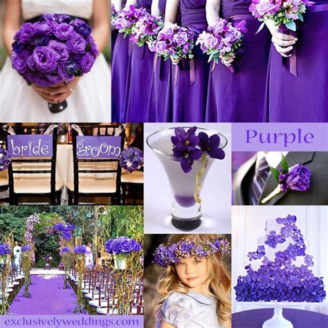 purple wedding color combination options exclusively weddings purple wedding color combination options