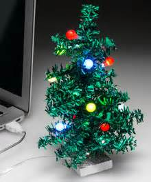 miniature led christmas tree w solar charger feisty pets stuffed animals that change from awwww to ahhhhh